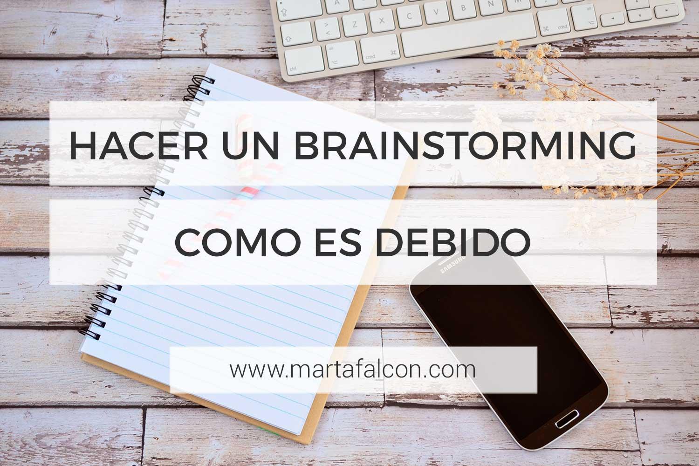 Como Hacer Un Brainstorming Para Obtener Buenas Ideas En